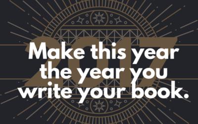Ten Tips To Kickstart Your Writing in 2017